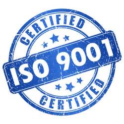 Certification ISO 9001 obtenue